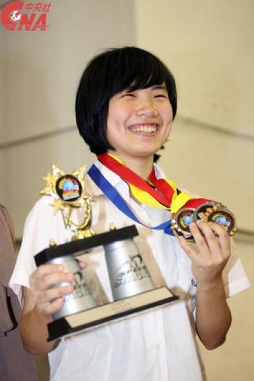 Cindy Lin, dextérité et rapidité en or