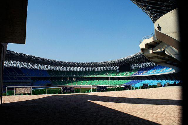 Stade omnisport de Kaoshiung par Toyo Ito